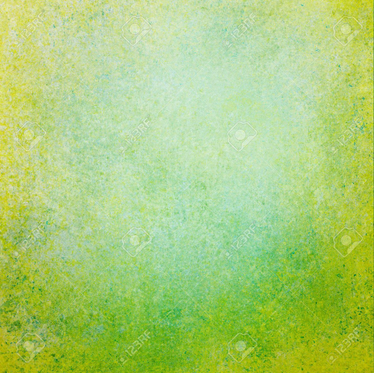 Peinture À L Éponge Sur Mur fond vert abstrait centre blanc avec une texture éponge vintage grunge,  affligé peinture smeary rugueux sur le mur, modèle de site web, la couleur  de