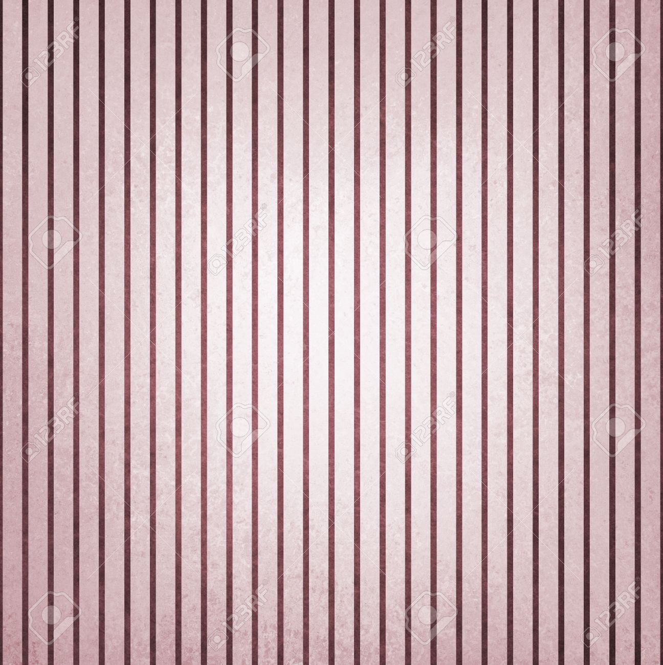 Faded Vintage Burgundy Purple And White Striped Background Shabby Chic Line Design Element On Distressed