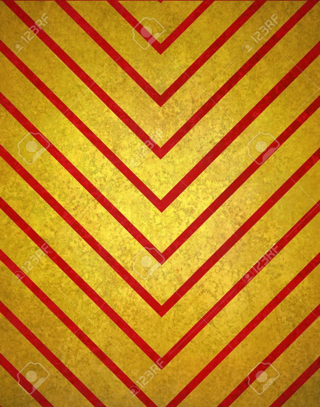 Chevron-gestreiften Hintergrund Muster, Rot Gold Hintergrund Der ...