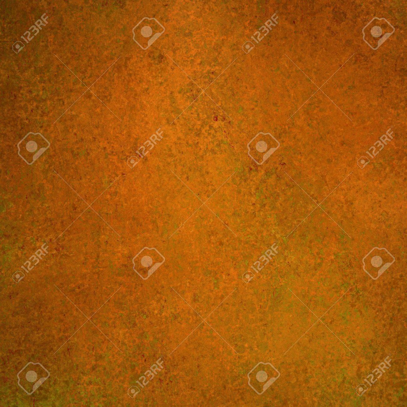 Rustic Orange Paint elegant orange autumn background texture paper, faint rustic