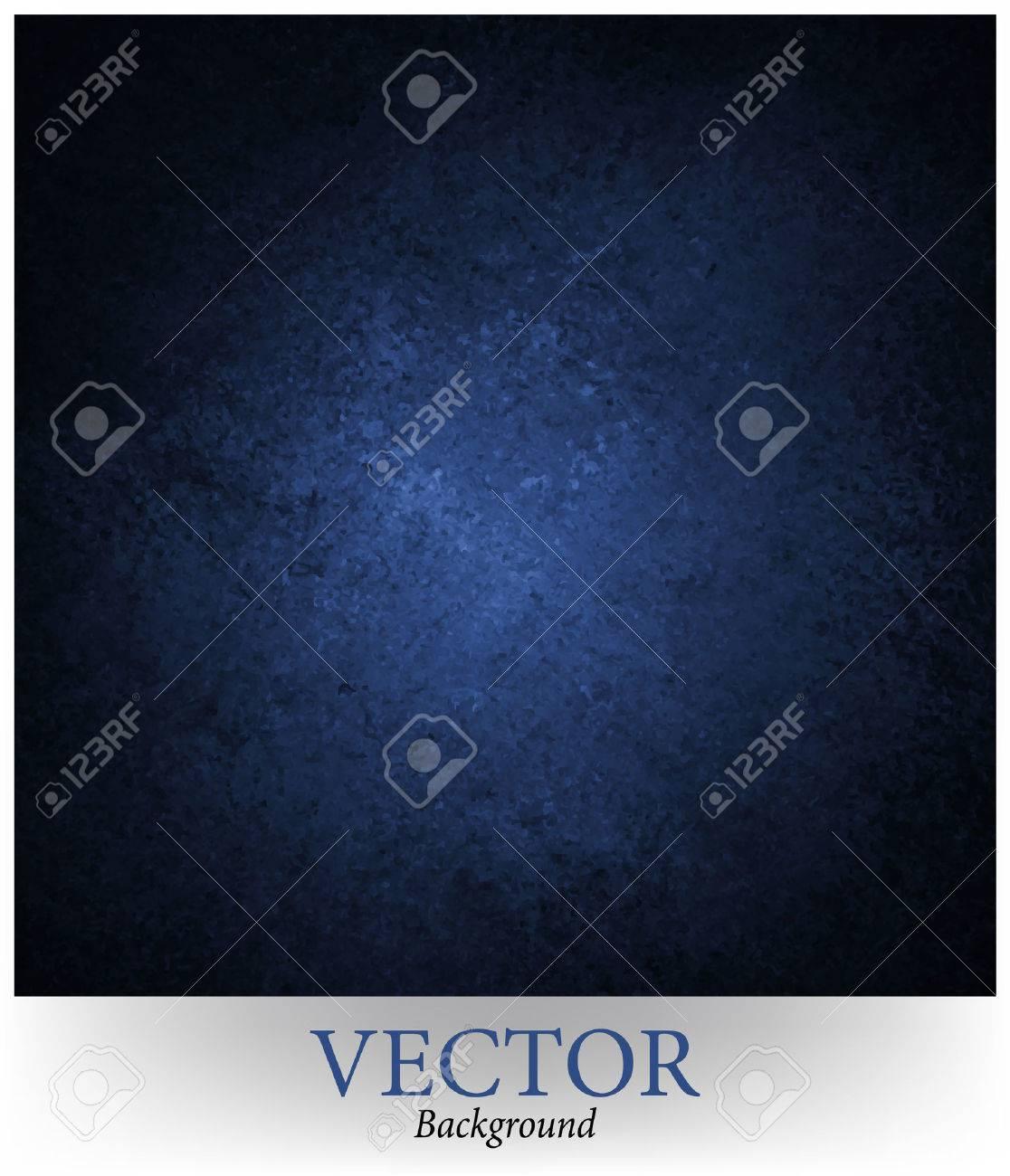 blue background vector, black vignette border and grunge texture Stock Vector - 34375123
