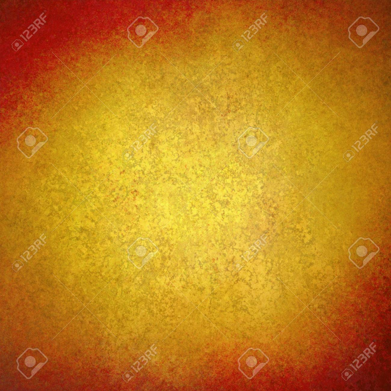 Bright Gold Background Texture Paper, Dark Rustic Red Grunge.. Stock ...