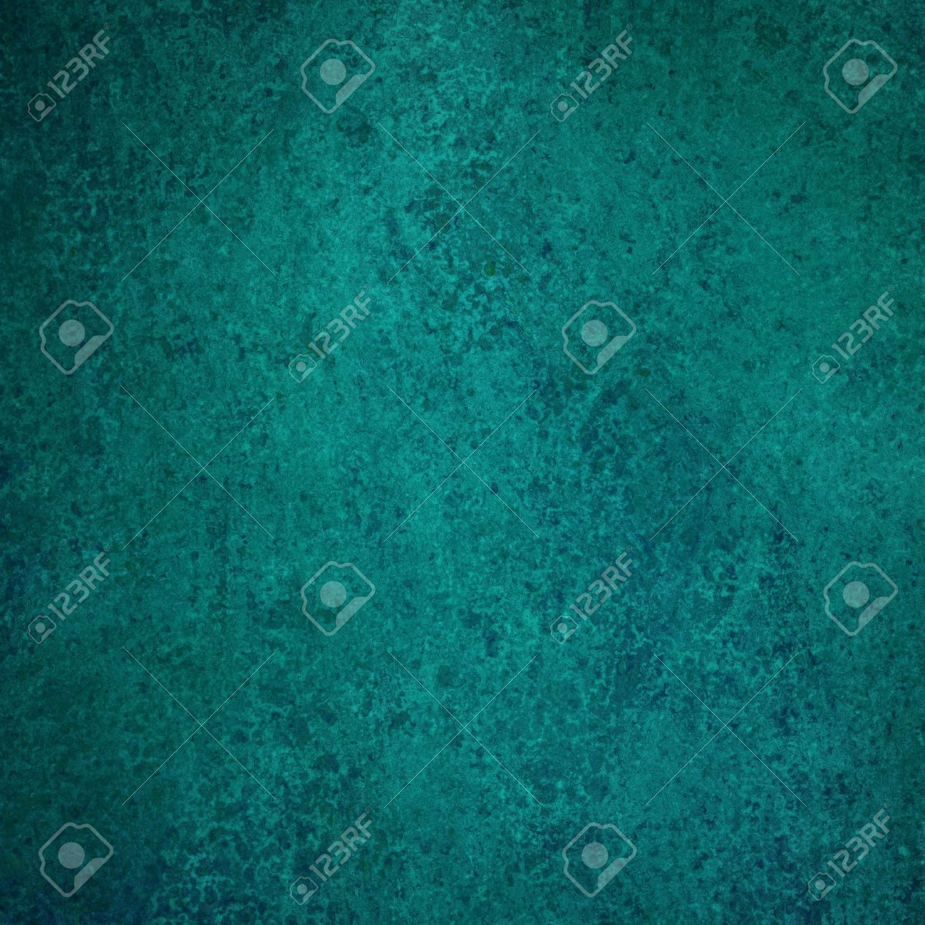 Stock Photo   Teal Blue Background Texture Paper, Faint Rustic Grunge Paint  Design, Old Distressed Blue Wall Paint