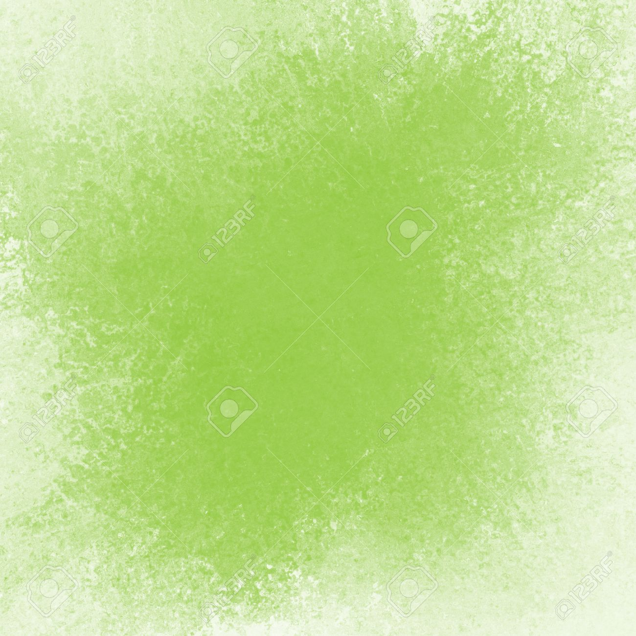 Soft Green Color Faded Lime Green Background Vintage Texture And Faded White