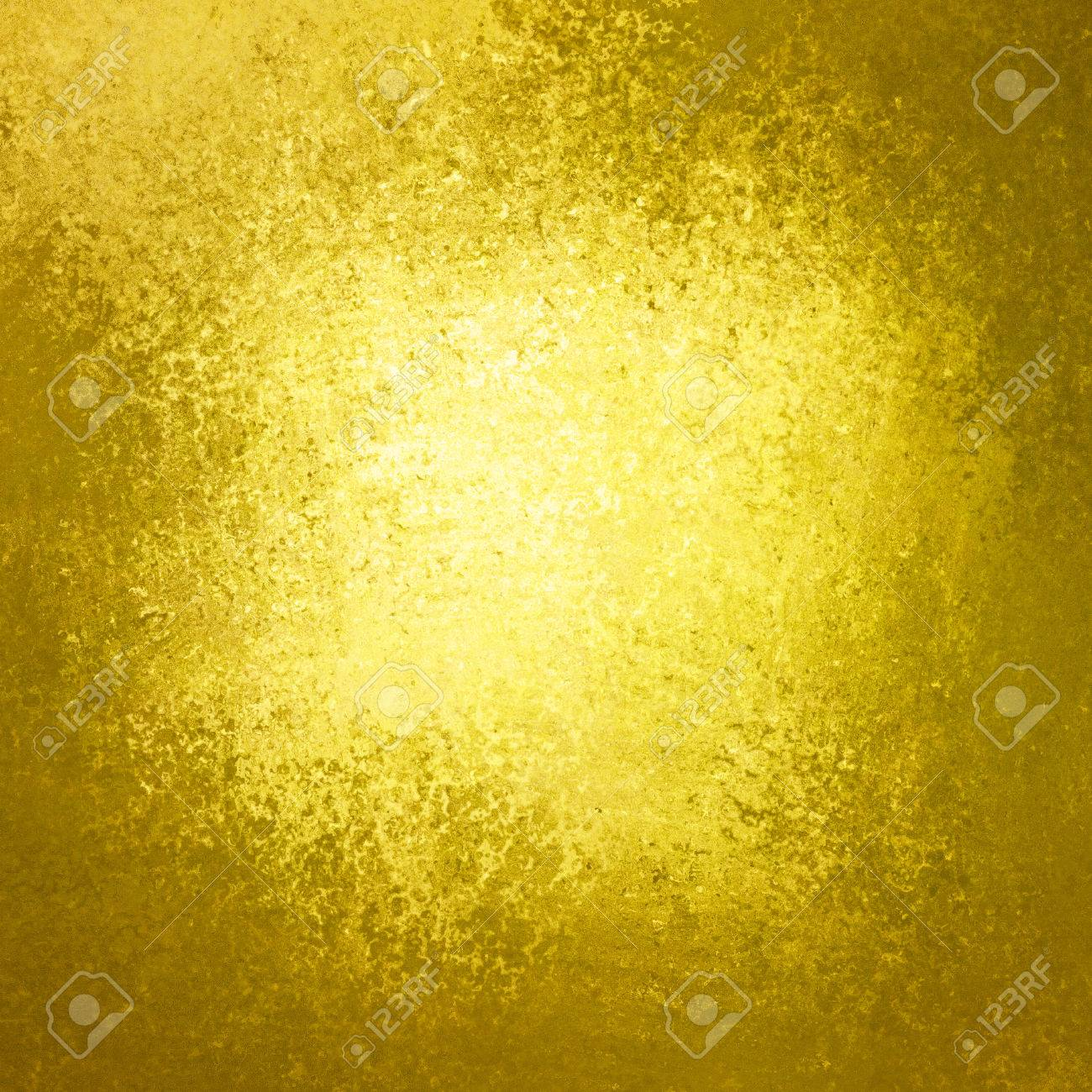 42c7402e220 old gold background color with brown border of vintage grunge texture and bright  yellow center design