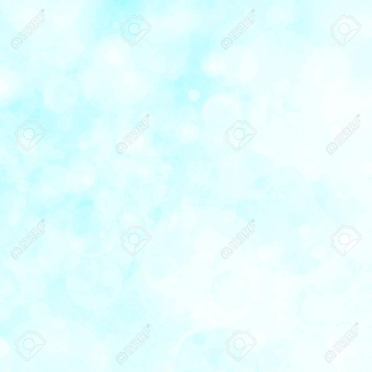 Lumières Blanches Boken De Fond Sur Fond Bleu Ciel Floue Floue