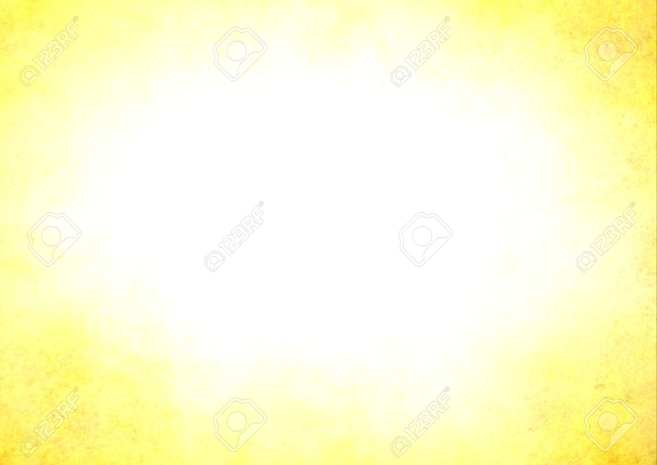 Background image center - Bright Yellow Background Border With White Background Center Stock Photo 38490808