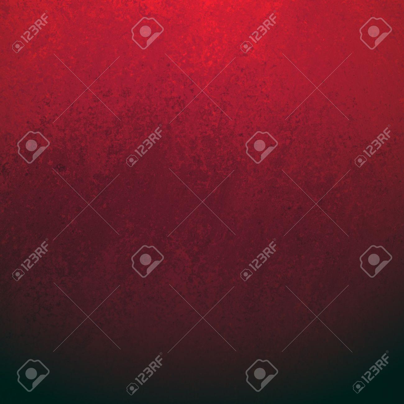 Couleur Avec Du Rouge fond noir avec une texture grunge bordure rouge, couleur rouge vif gradient  mélangé dans la couleur noir foncé, élégant fond chic avec murs éponge