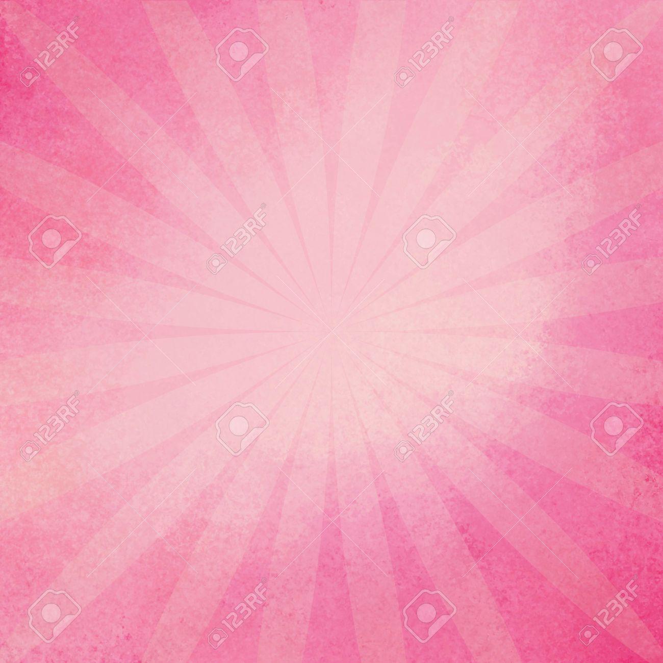 Retrò Sfondo Rosa Raggera In Morbido Colore Rosa Baby Design