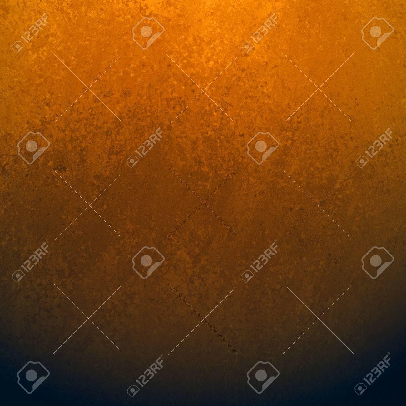 Fond Noir Avec Une Texture Cuivre Grunge Bordure Orange Gradient Couleur Orange Vif Mélangé Dans La Couleur Noir Foncé élégant Fond Chic Avec Murs