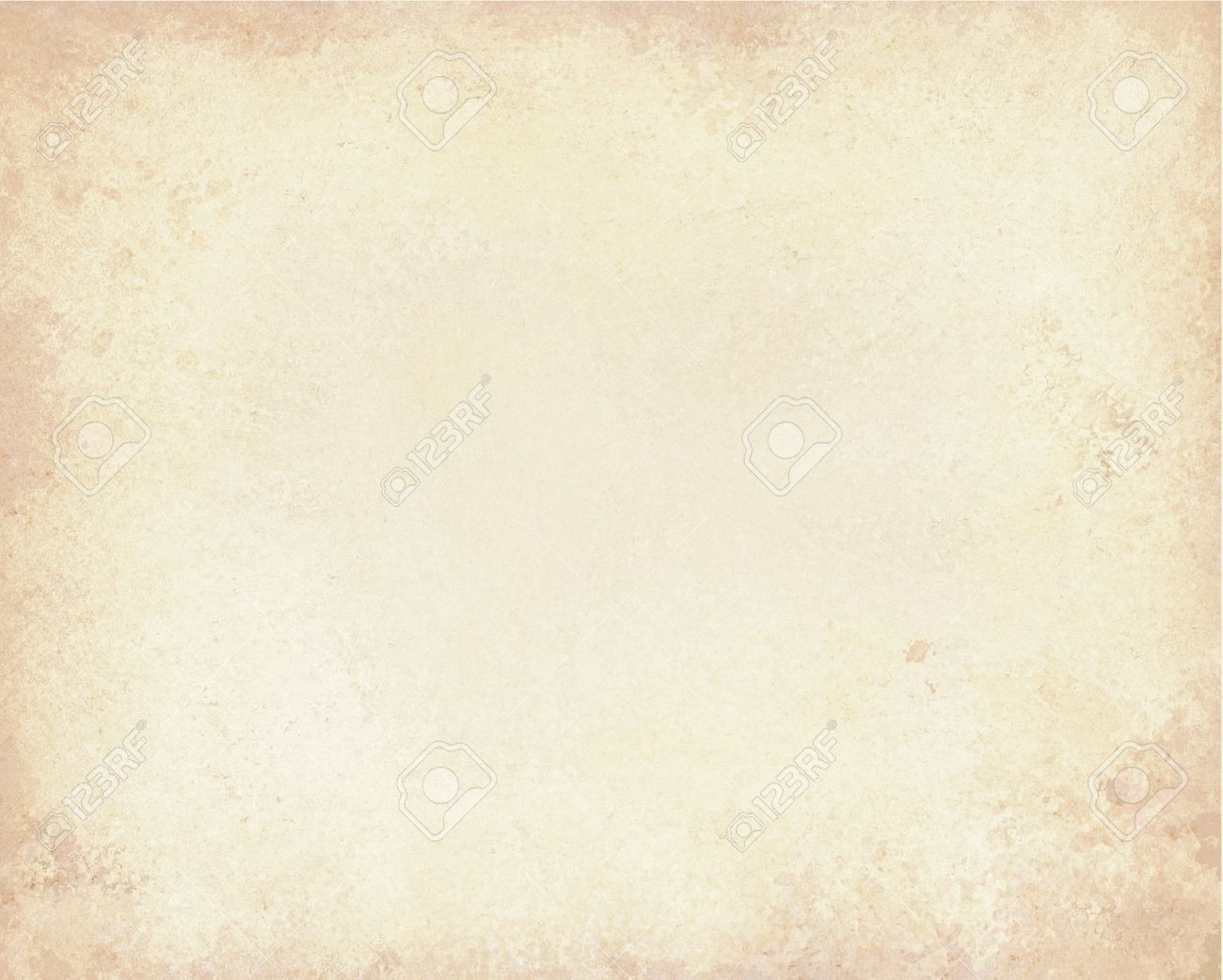 Old Brown Paper Background With Vintage Texture Layout Off White Or Cream Color Stock