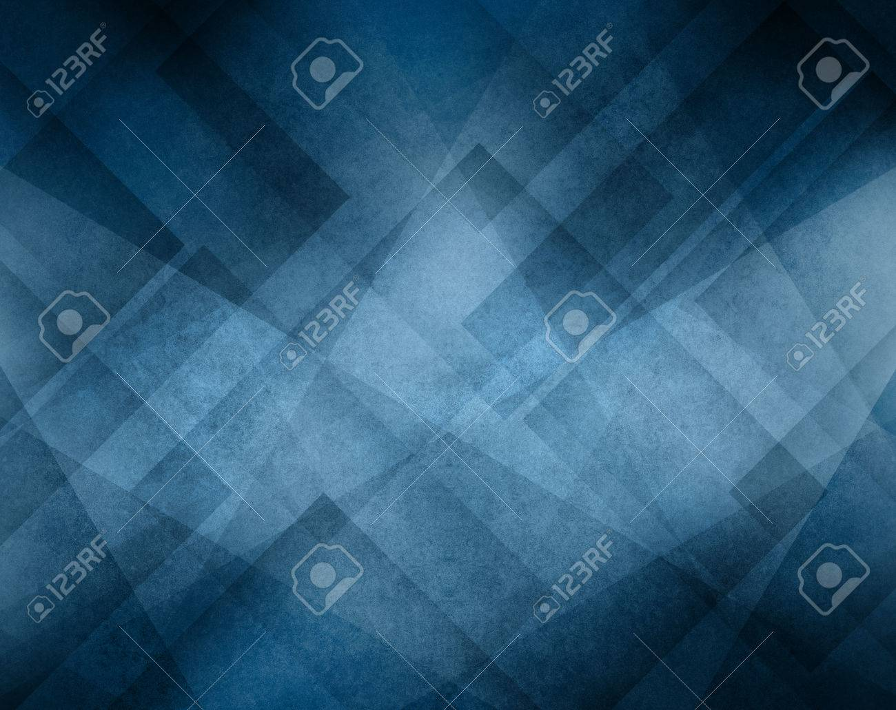 blue color background with abstract geometric triangle line design - 43272699