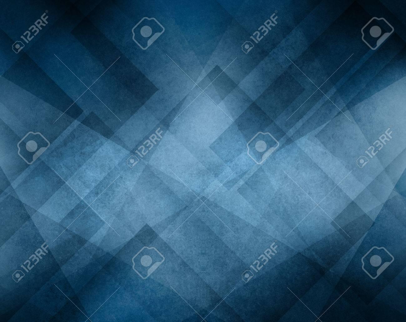 Fondo De Color Azul Con Diseño Geométrico Abstracto Línea De ...