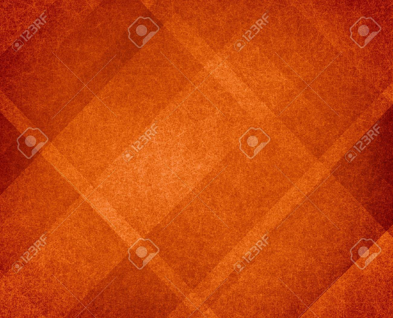 burnt orange autumn background design with lines and angles - 44625236
