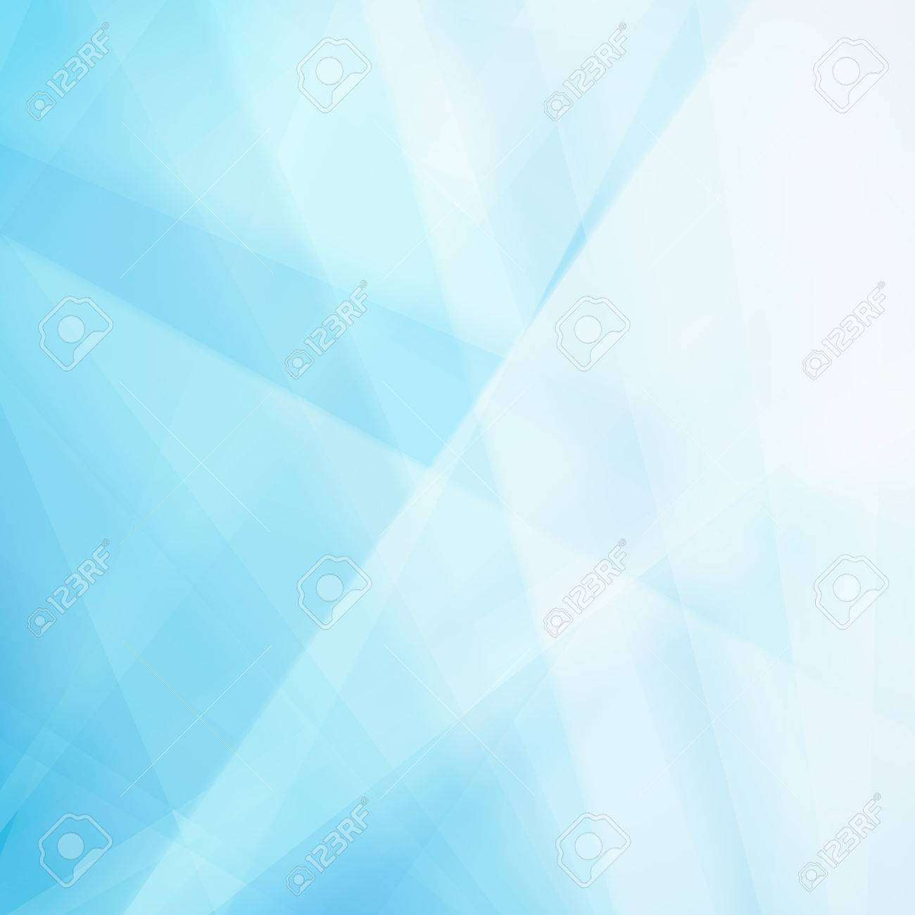 abstract blue background with white lines and stripes in random pattern, triangle shapes and diagonal stripes, gradient blue to white color scheme, business report or corporate job background concept - 46183523