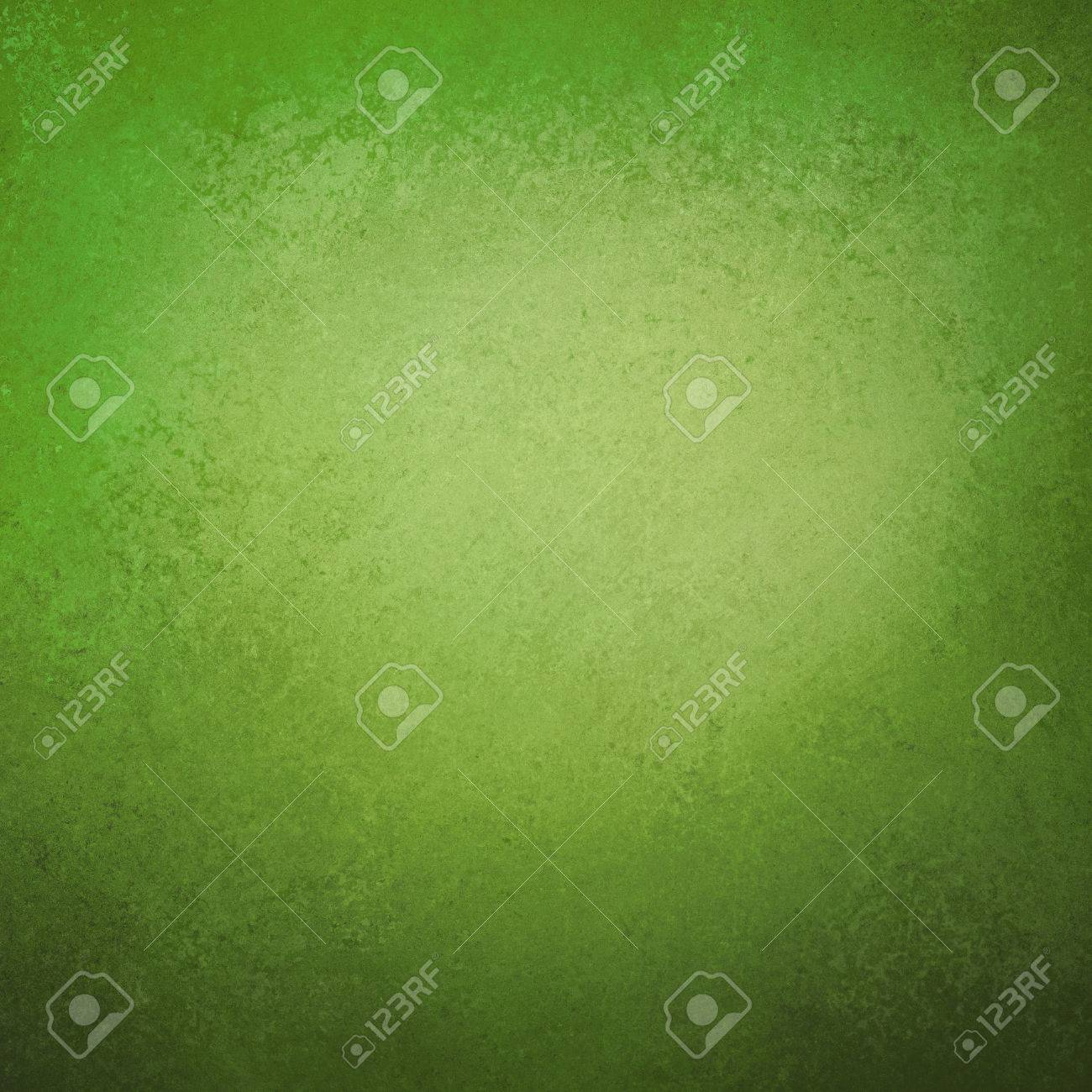 green background, vintage color and sponged distressed texture in soft blended brush strokes with light center and darker border - 46183531