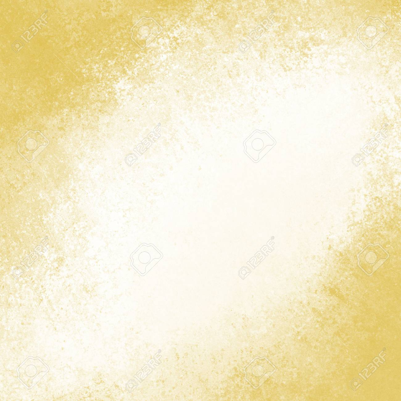 old paper texture. vintage white background with gold grunge border. - 46532287