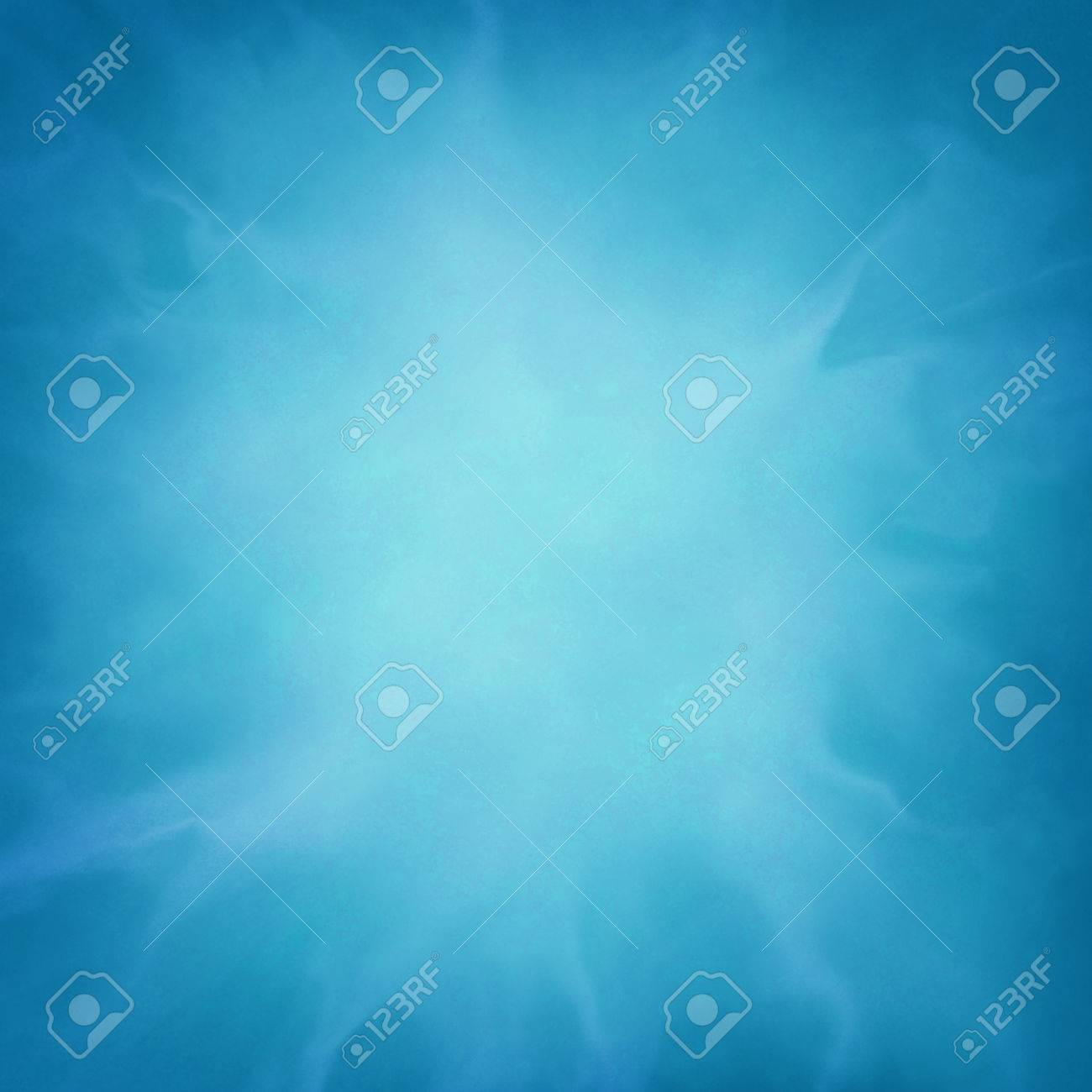abstract blue background with wispy cloudy white design element - 46627273
