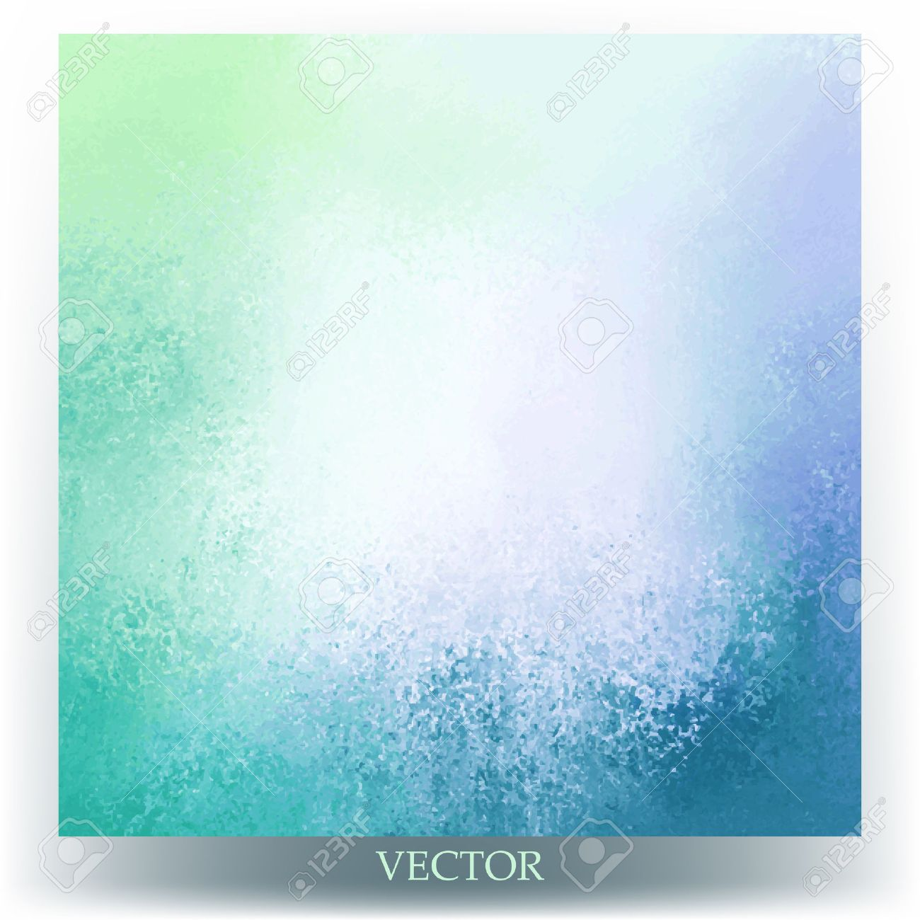 Abstract Background Vector Blue And Green Spring Colors With