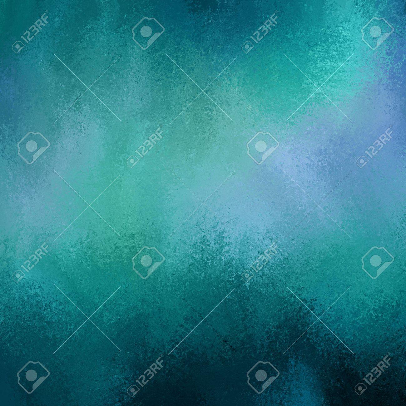 Immagini Stock Astratto Nelle Tonalità Verde E Blu Sfondo Di