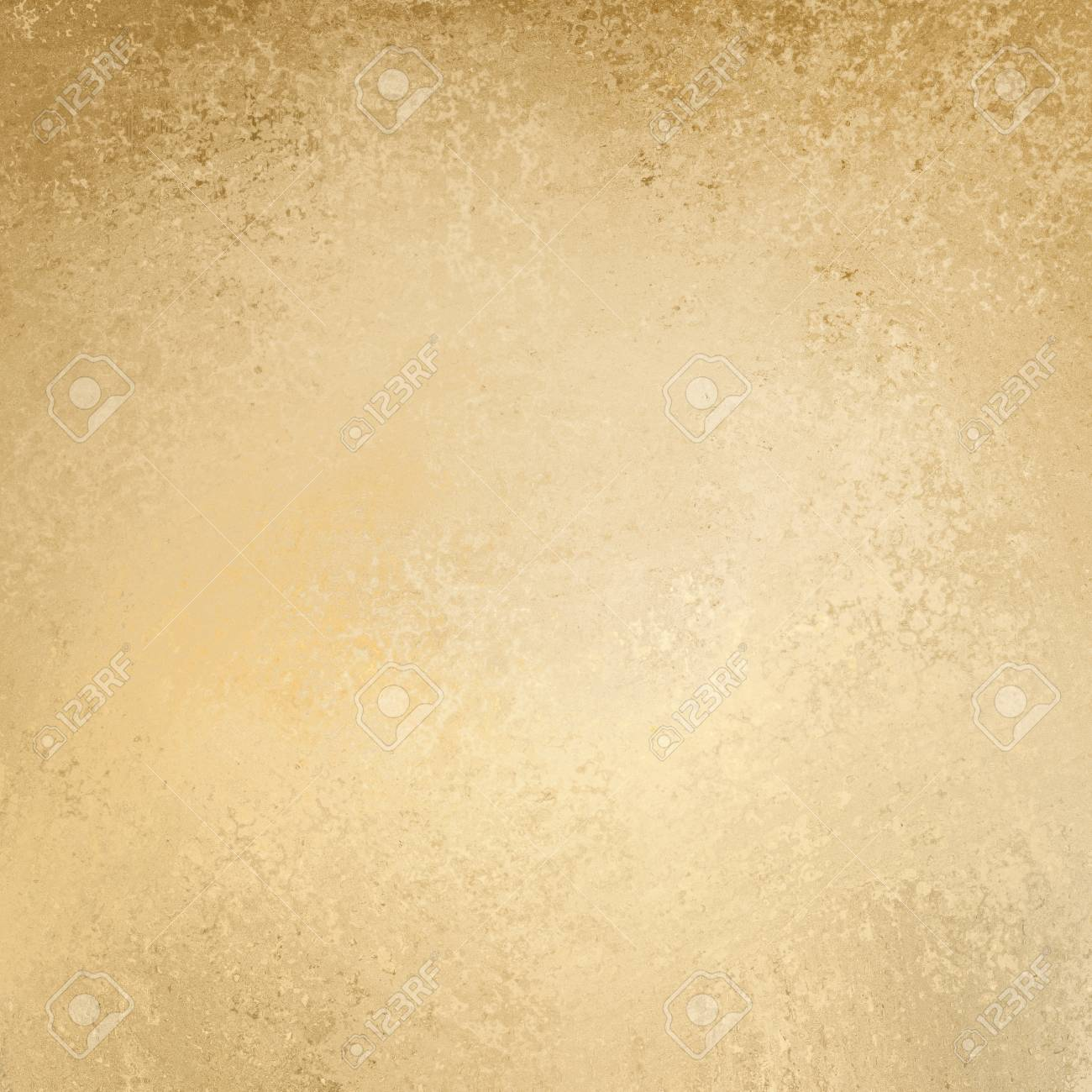 Light Brown Paper Background With Vintage Texture Stock Photo
