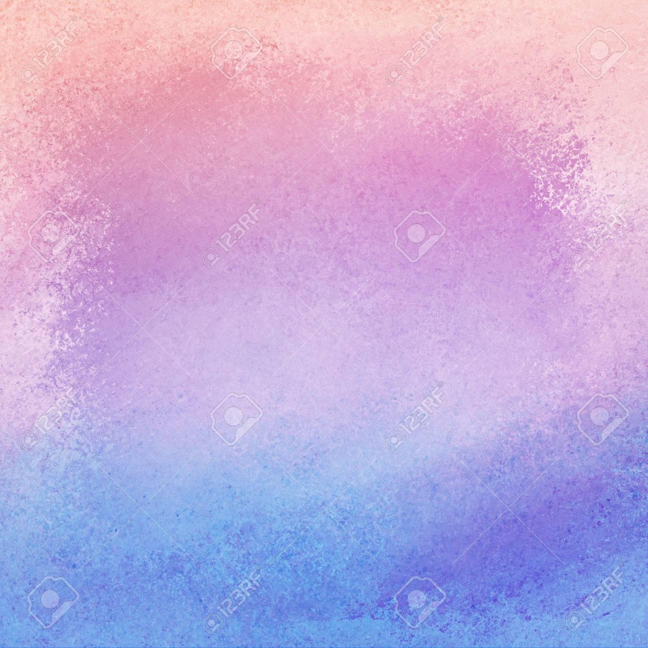 Rosa Purpura Y Azul De Fondo Con Degradado De Color Y Textura De La Vendimia Del Grunge