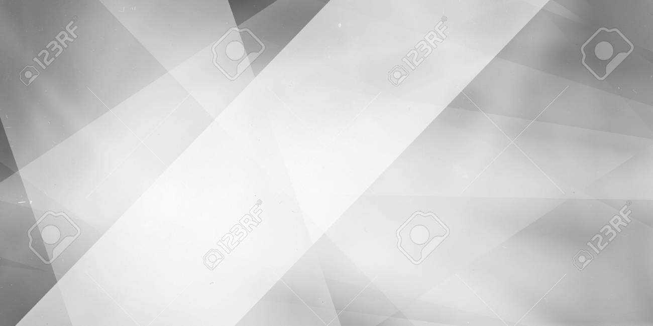 gray background with white layers stripes and angles, geometric business background design, white background lighting with large soft white angled stripe in foreground - 68744983
