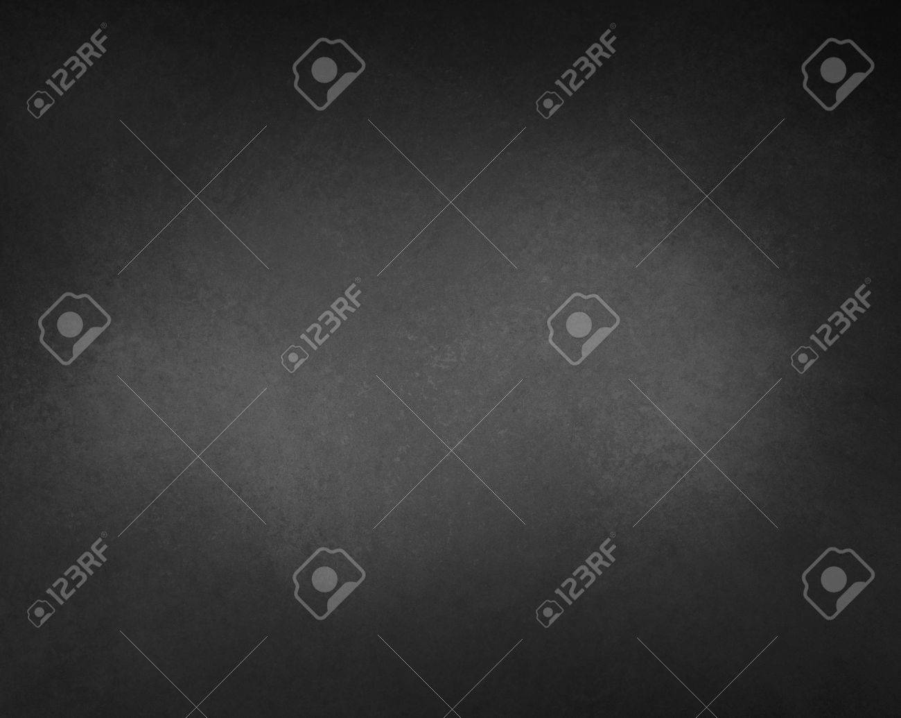 black background with gray center light spot and vignette border with texture - 70798452
