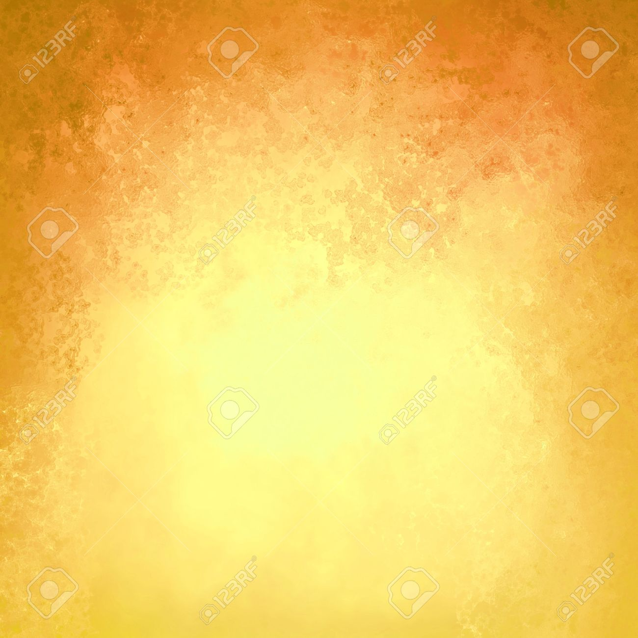 Yellow And Brown Orange Background With Dark Top Border And Bright