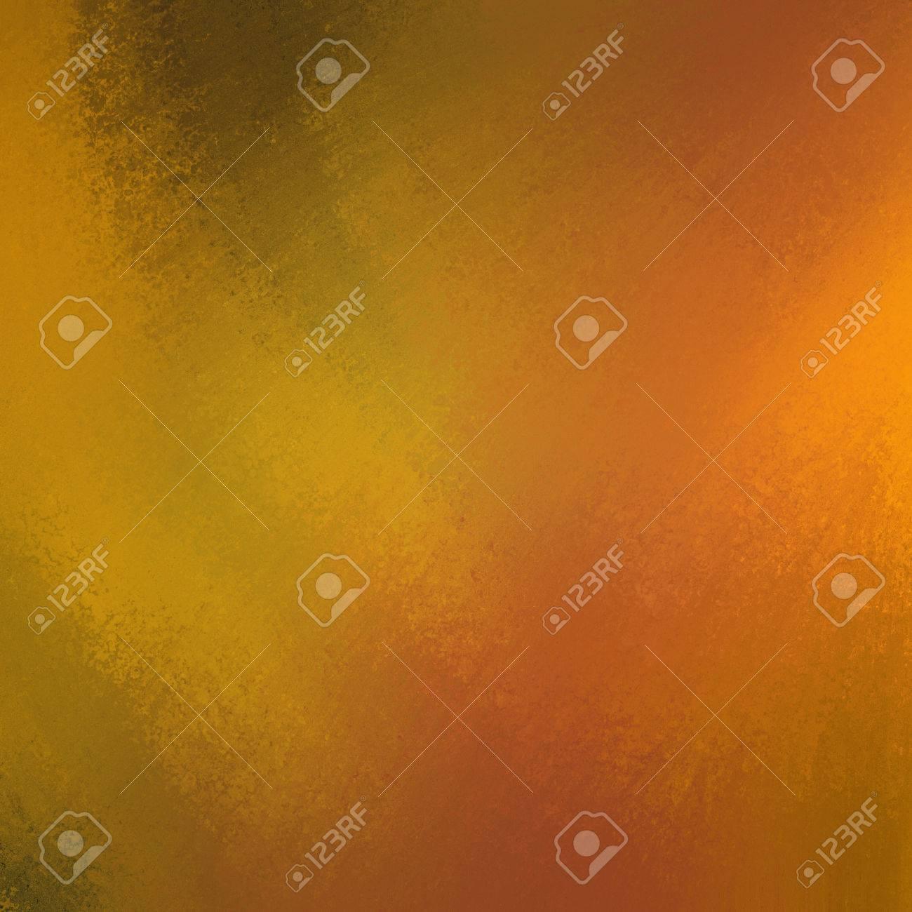 Soft Orange Color Gold Background With Soft Orange Color Splash For Autumn Stock