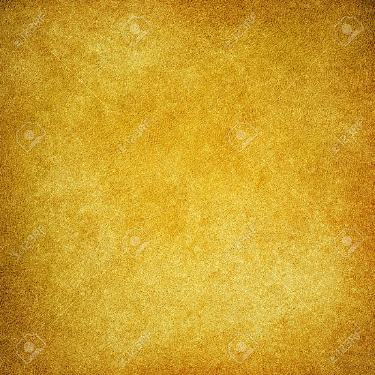 Old Gold Brown Paper Background With Vintage Distressed Texture ...