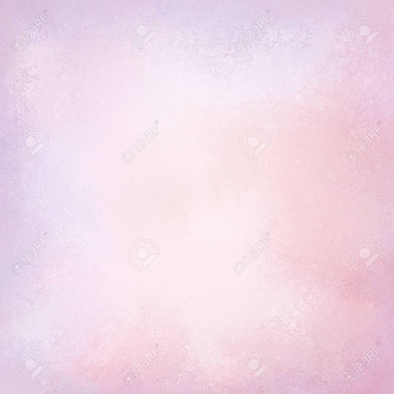 soft pretty pink and purple background design with vintage texture and pastel spring color stock photo