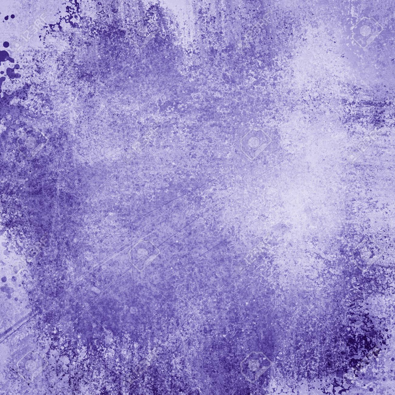 Old Purple Paper Background With Grunge And Messy Stains Paint Blotches Distressed Faded Wallpaper