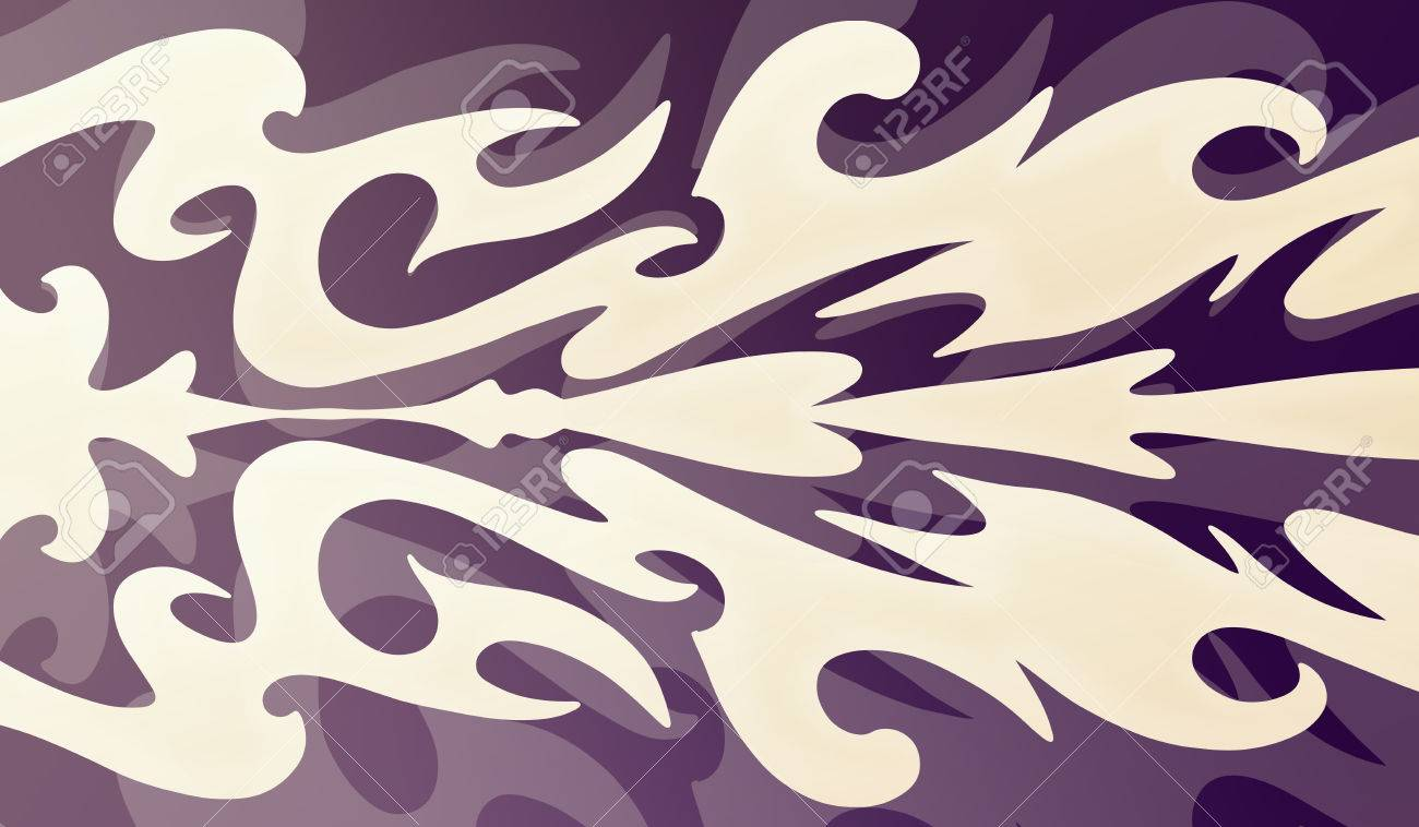 Abstract Purple And White Design Pale Light Color Block Wallpaper Shapes On Dark Layered Background