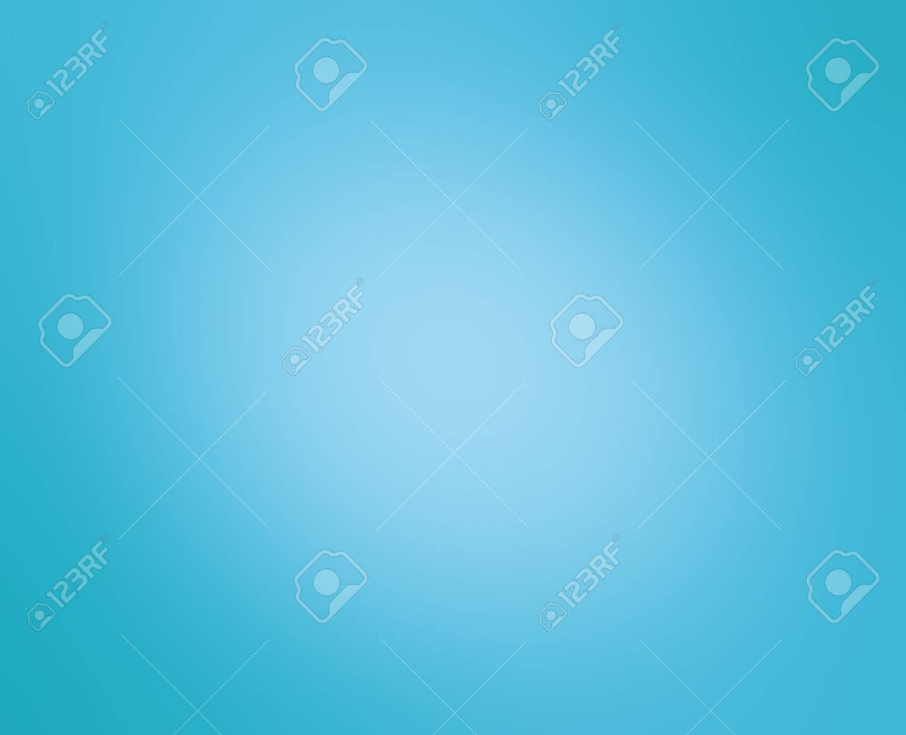 white blurred center on sky blue background color, gradient radial blur design - 74898677