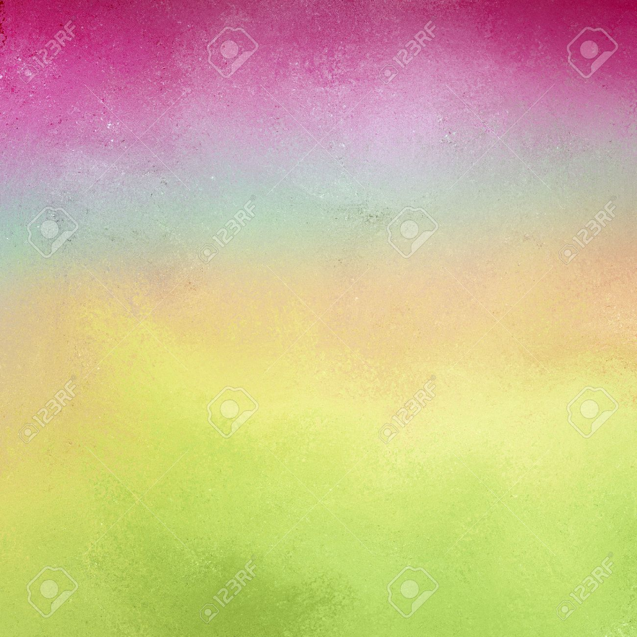 Pastel Background With Soft Light Colors Of Blue Pink Green And Yellow Bright Deep