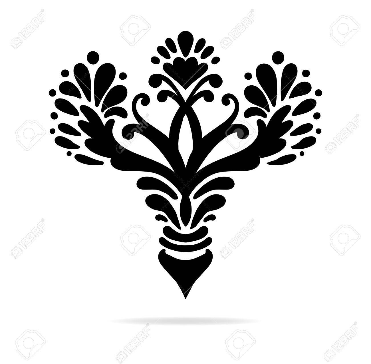Elegant hand drawn fleur de lis symbols in ornate stylized design elegant hand drawn fleur de lis symbols in ornate stylized design elements fancy paragraph or biocorpaavc Images
