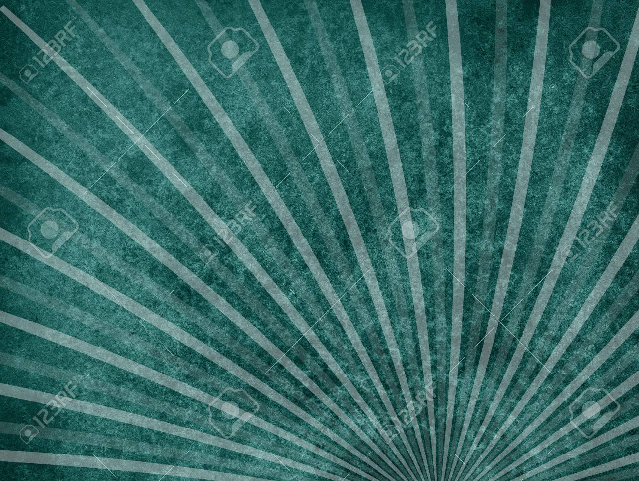 Abstract Dark Teal Blue Green Background With Rough Distressed