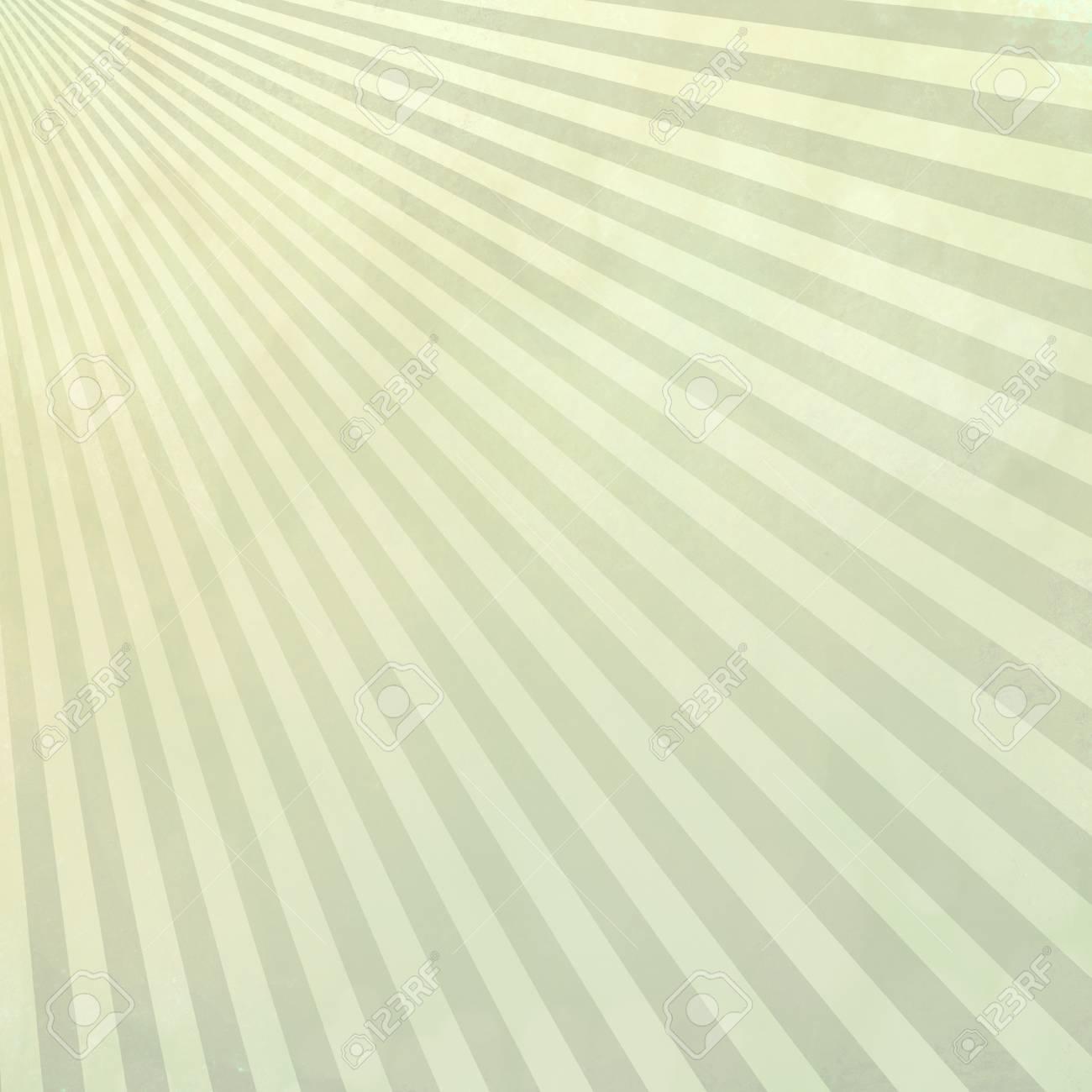 Retro Blass Beige Und Grau Grün Sunburst Design Hintergrund Mit Textur  Standard Bild