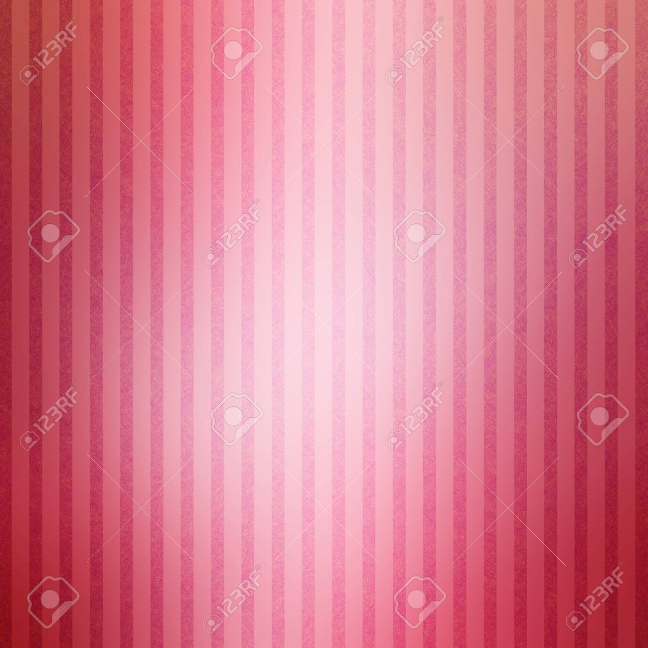 Pretty Shiny Striped Background With White Glossy Center And Textured Stripes In Soft Colors Of Rose