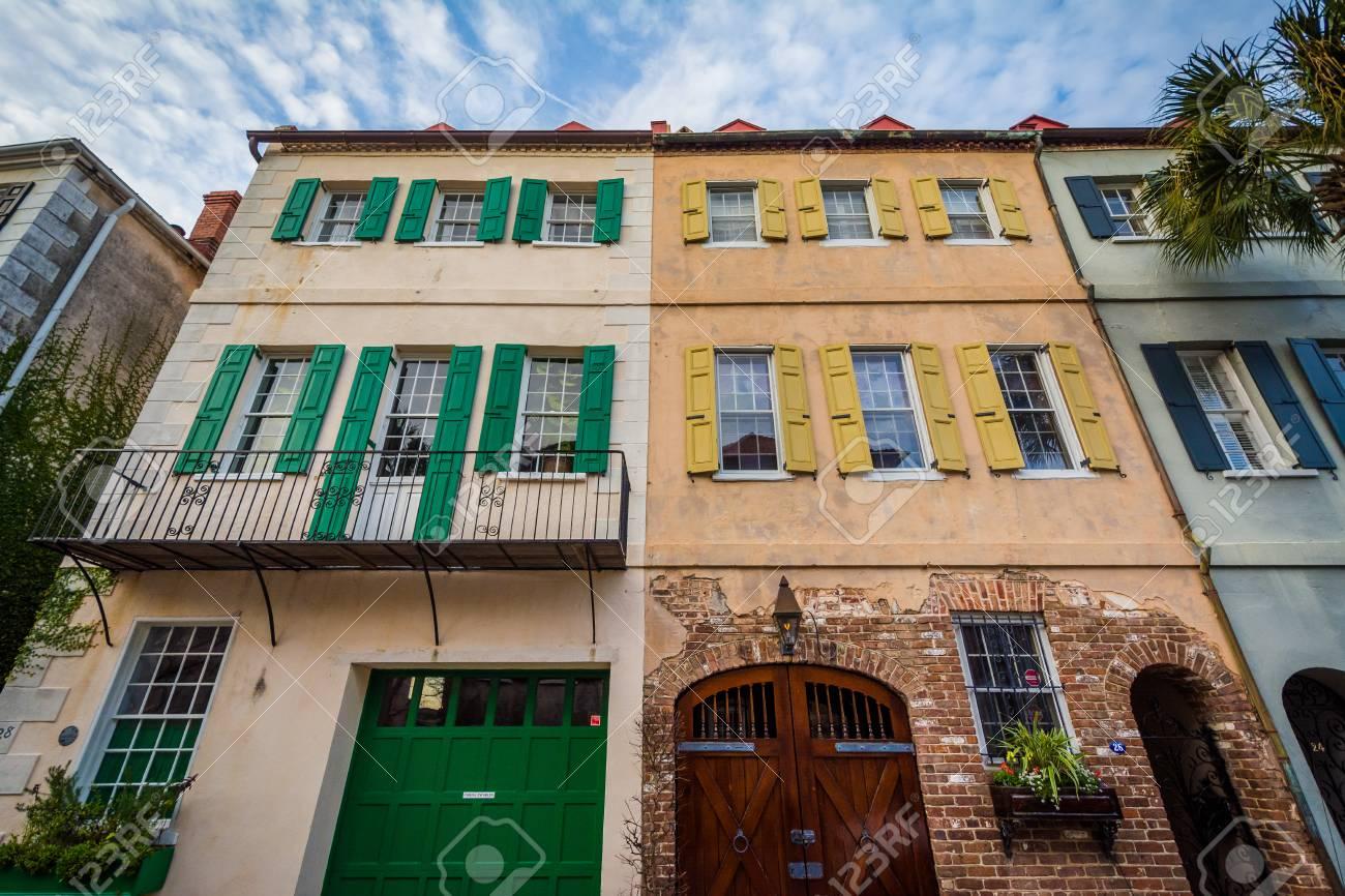 Casas Historicas En Charleston Carolina Del Sur