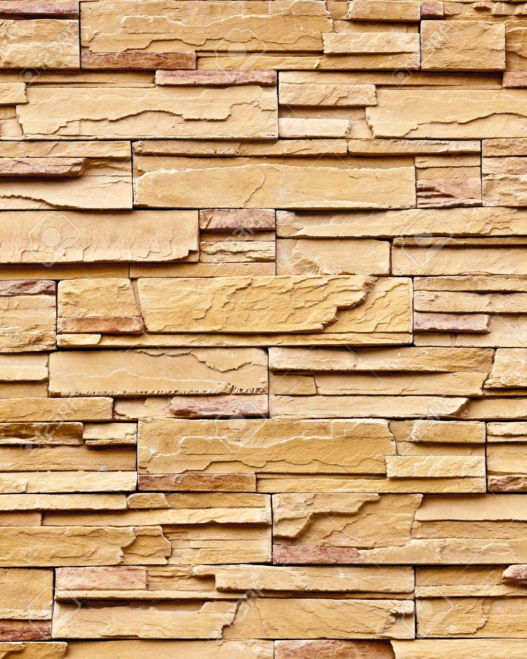 Pattern Of Decorative Slate Stone Wall Surface Stock Photo, Picture ...