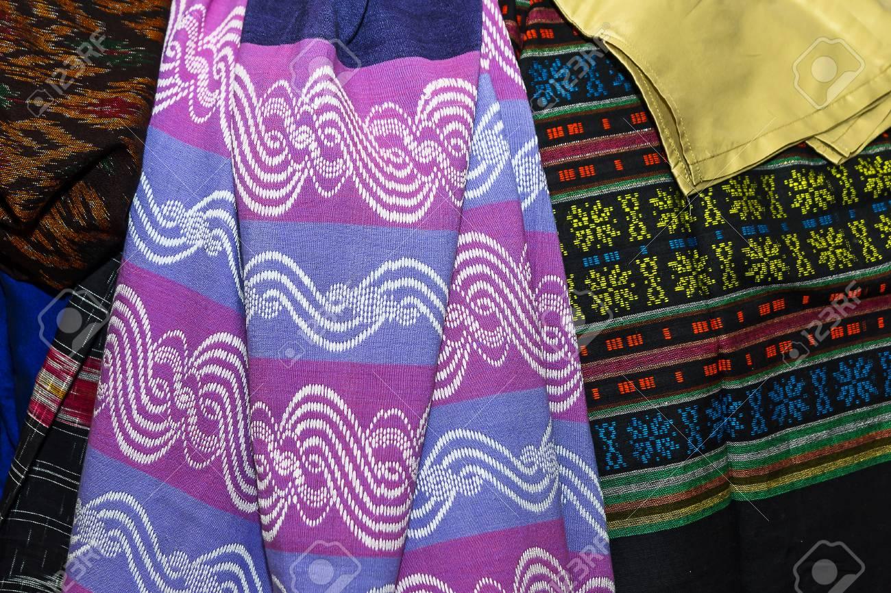 Myanmar Fabric Dress