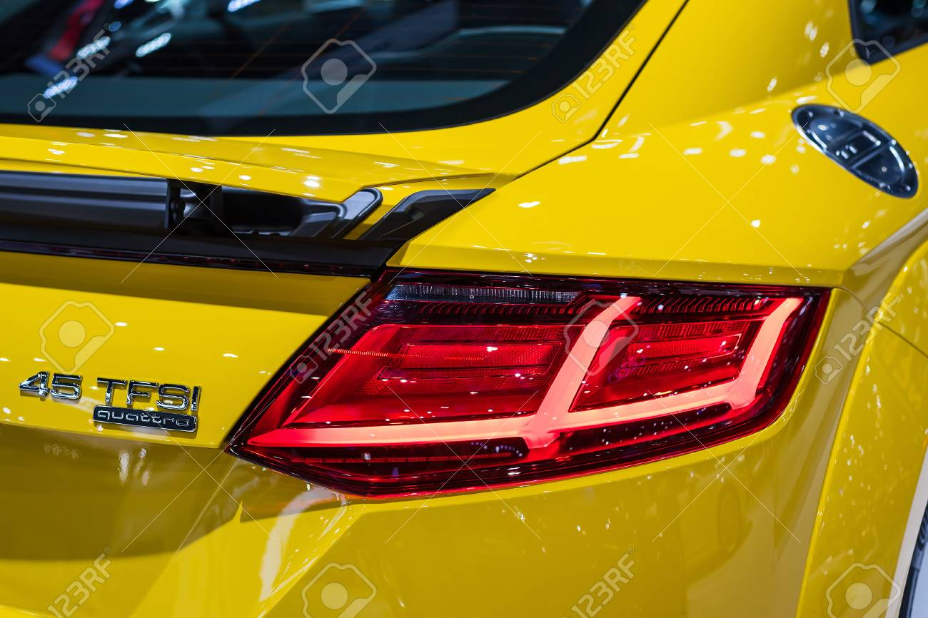 Nonthaburi December 7 Tail Light Of Audi Tts Coupe 2 0 Tfsi