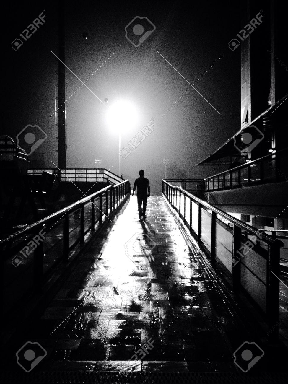 guy walking away
