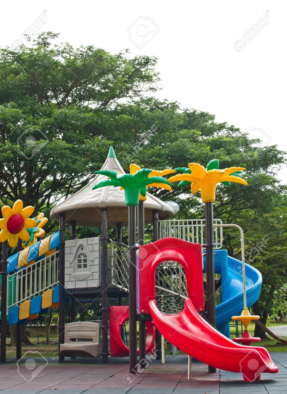 Colorful Children Playground Stock Photo - 15031605