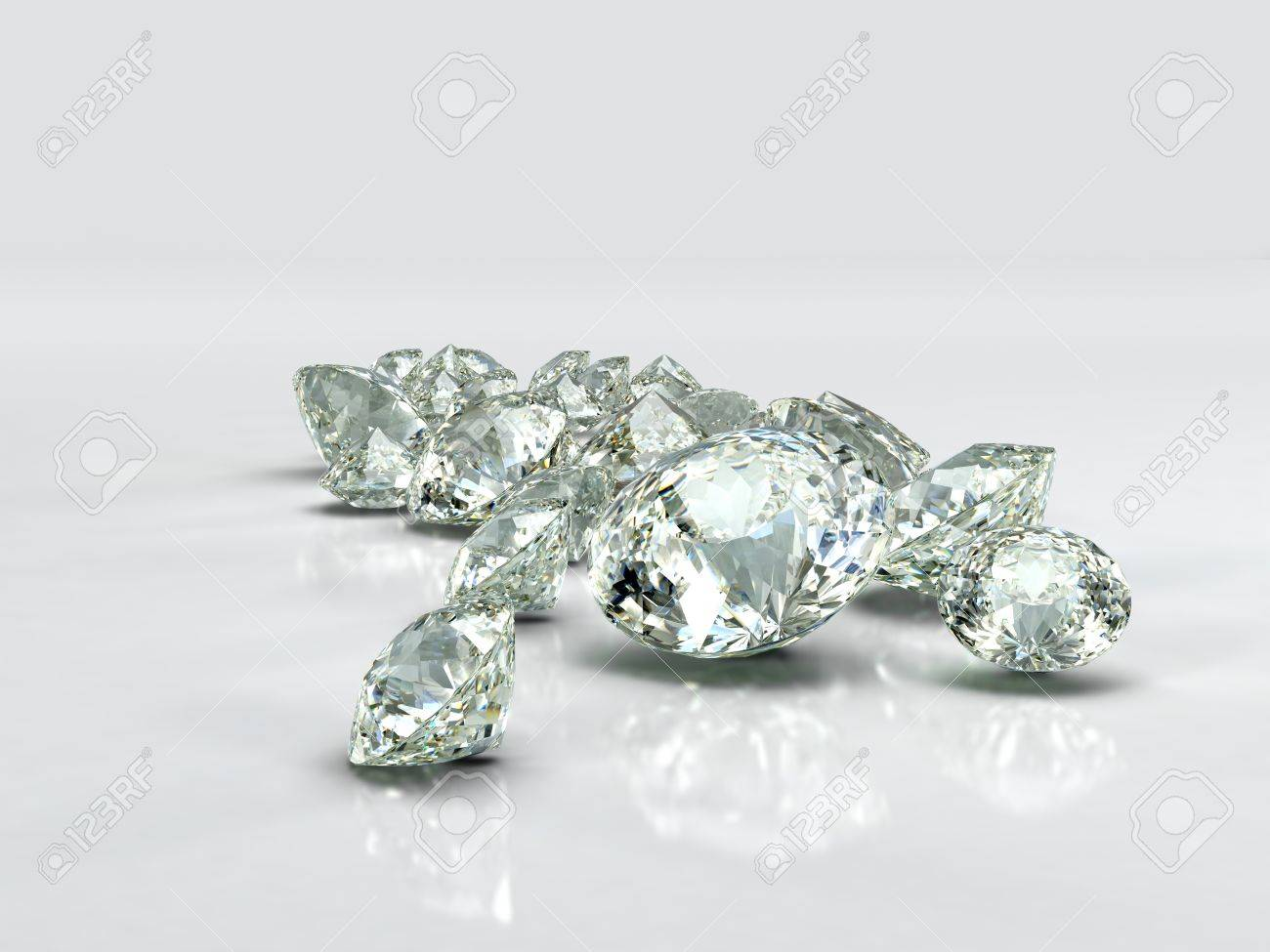 isolated high jewel on white surface photo light sparkling quality beautiful background reflective a diamond