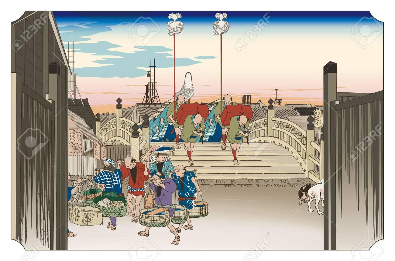 Nihonbashi Asanokei on a plain presentation. - 92226623