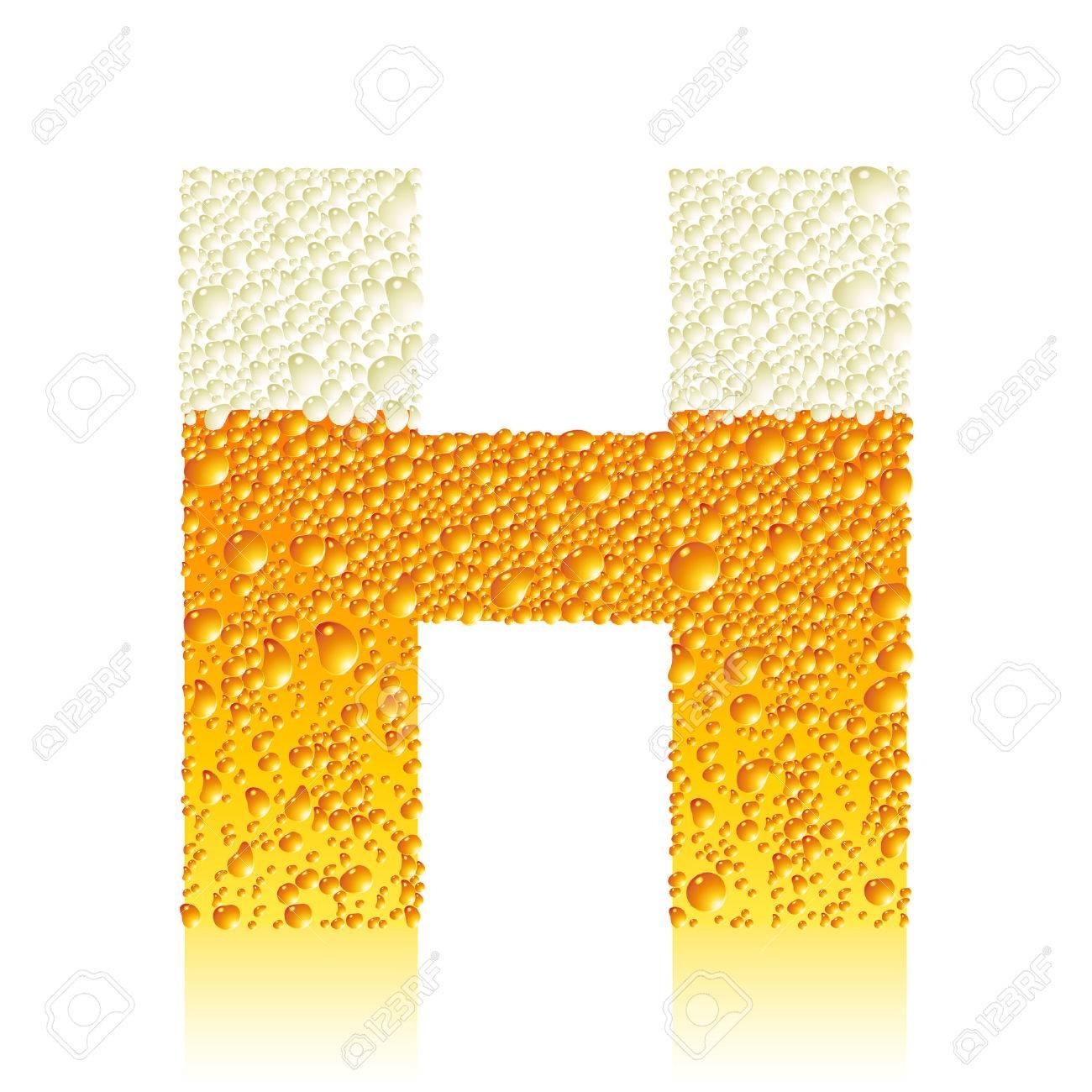 alphabet beer Y Stock Vector - 5886112
