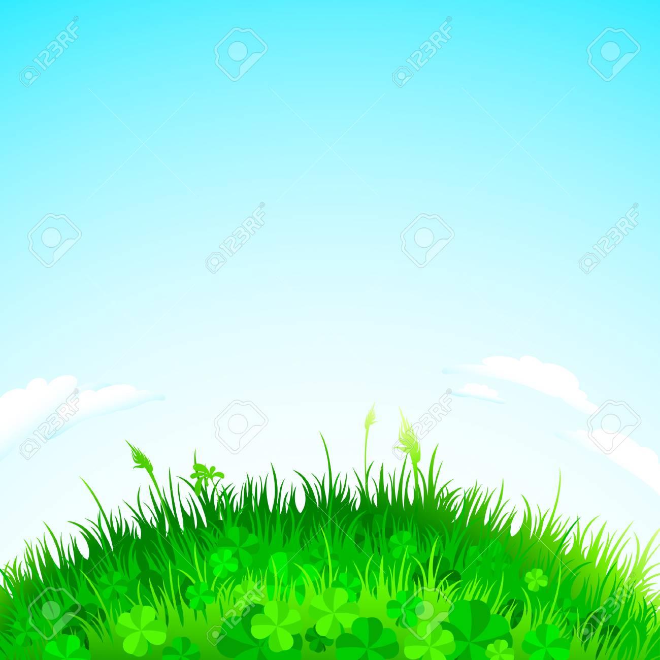 background grass Stock Vector - 6690841
